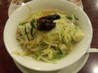 「野菜たっぷりタンメン646円」@バーミヤン 伊那日影店の写真