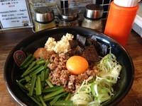 「旨辛まぜそば220B」@つけ麺・ラーメン フジヤマ55 バンコク店の写真
