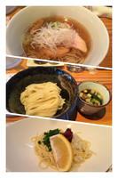 「煮干三昧 大盛り 1404円」@らーめん芝浜の写真