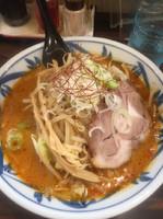 「オロチョンラーメン2辛」@札幌 味噌や 元住吉店の写真