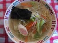 「タンメン 450円」@あかつき食堂の写真