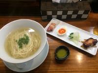 「秋刀魚コトリータ  750円」@塩らーめん 千茶屋の写真