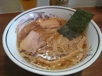 「中華そば650円+ビール」@中華そば 尋の写真
