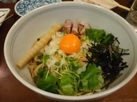 「干し海老油そば(追い飯付)780円」@味香房 海居人の写真