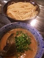「【限定】鶏と帆立の濃厚つけ麺+大盛り」@二代目 狼煙 ~心~の写真