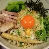 「【限定麺】干し海老油そば」@味香房 海居人の写真