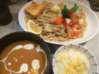 「限定 オマール海老のビスク風つけ麺 1000円」@中華蕎麦 瑞山(ZUIZAN)の写真