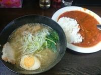 「本日のランチ(塩ラーメン+スタミナごはん)¥700」@鶏っくすたーの写真