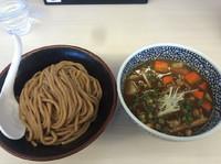「具沢山カレーつけ麺  800円」@濃厚鶏豚骨魚介つけ麺 かず屋の写真
