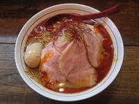 「特製辛みそらーめん(大盛り麺200g)1000円」@東京味噌らーめん 鶉の写真
