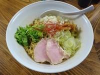「油そば(670円)300g」@くじら食堂の写真