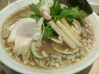 「トリプルSOBA」@Ginza Noodles むぎとオリーブの写真