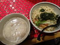 「魚介豚骨つけ麺」@京つけめん つるかめ 本店の写真