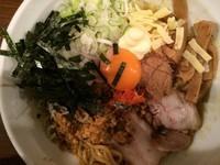 「【限定】カレーまぜそば 780円」@ラーメン 麺や亮の写真