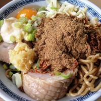 「汁なし」@麺処TANAKAの写真