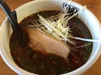 「【期間限定】辛麻醬麺720円」@ラーメン のしめの写真