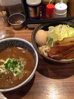 「カレーつけめん➕味玉¥100」@ラーメン燈郎の写真