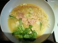 「福島鶏白湯 950円」@たなつものSHOKUDOUの写真