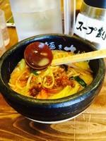「味噌らぁめん」@らあ麺×つけ麺専門店 まがりの写真