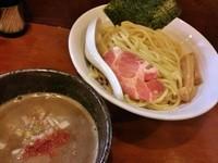 「濃厚豚骨魚介つけ麺(大盛) \800」@麺屋 御神本の写真