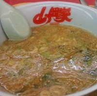 「味噌つけ麺」@山岡家 柏店の写真