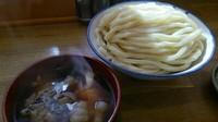 「肉玉汁うどん大盛」@武蔵野うどん めんこやの写真