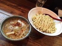 「味噌つけ麺・大盛り」@東京味噌らーめん 鶉の写真