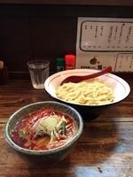 「辛味噌つけ麺・大盛り」@東京味噌らーめん 鶉の写真