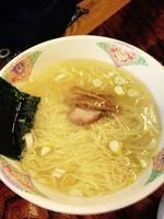 「塩ラーメン¥650」@らーめん一色の写真