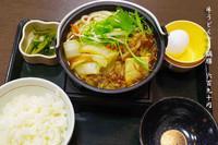 「牛うどんすき鍋膳 690円」@なか卯 上福岡店の写真