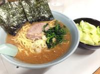 「味噌(大)・キャベツ 880円+100円」@ラーメン屋 けんの写真