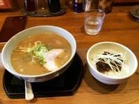 「Bセット(味噌+辛ミソチャーシュー丼)」@らーめん いっ直の写真