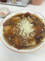 「チャーシューワンタン麺(850円)」@ラーメンワンちゃん 君津常代店の写真