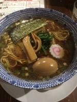 「ド生姜醤油らー麺 大盛 780円」@俺達のらー麺屋 ちょび吉の写真