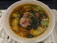 「とまと麺(750円)」@麺処 カル麺の写真