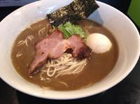 「味玉煮干しラーメン  ¥800」@ニボコテの写真