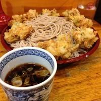 「もりかき揚げ(¥470)」@歌舞伎そばの写真
