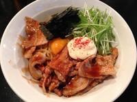 「焼肉マヨまぜそば(大盛)」@つけ麺・ラーメン カガミハラ55の写真