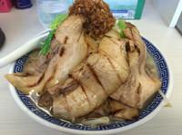 「馬鹿豚ふじ麺  クーポンで700円」@濃厚鶏豚骨魚介つけ麺 かず屋の写真