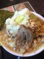 「雷電麺」@とんちき麺の写真