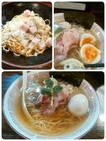 「味玉煮干しラーメン+替え玉」@らぁめん小池の写真