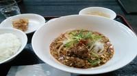 「正式担々麺定食」@シビカラ屋 ロッキー 枚方店の写真