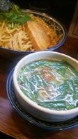 「【今月の限定】台湾つけ麺大盛り(追い飯付き)」@中華そば 旋の写真