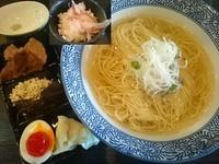 「【3周年記念】特製白だしラーメン+茶漬け専用ご飯=¥890」@麺処 ほん田 nijiの写真