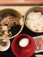 「朝定食(ぶっかけ)\290」@蕎麦屋 みはちの写真