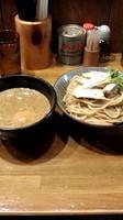 「特製つけ麺(大盛)980円+牛めし200円」@馳走麺 狸穴の写真