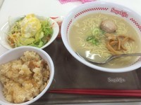 「ラーメン+サラダセット」@スガキヤ 瀬戸アピタ店の写真