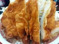 「インチキゴリラー麺(麺300g・野菜半増し) 850円」@ラッキー食堂 まとやの写真