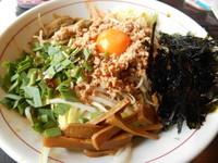「《限定》 台湾まぜそば」@とんちき麺の写真
