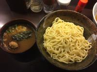 「魚介つけ麺750円、煮干しらーめん680円」@川喜屋の写真